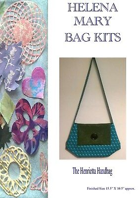 Helena Mary Bag Making Kit Complete Kit - The Henrietta Large Handbag