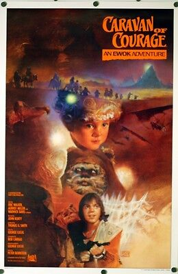 Caravan of Courage - original movie poster - 27x41 Style A - Ewoks , Star Wars