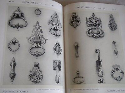 Vintage catalogue 1920s Decorative Hardware Door fittings knobs handles knockers