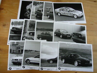 BMW 3 Series and 850i press photo set, 1993, excellent condition, rare