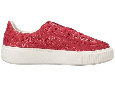 NEW  120 Womens Puma Shoes Platform Lux Sneakers in Toreador Metallic Red  sz 8 03d3a3676