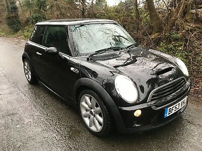 Mini Cooper S 2003 97000 miles Aero side skirts, Great condition, long mot
