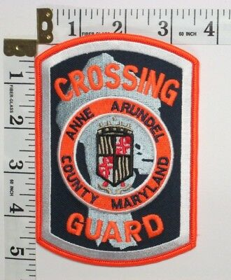 Anne Arundel County Maryland Crossing Guard Shoulder Patch