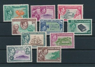 [88462] Pitcairn Islands 1940 good set Very Fine MH stamps