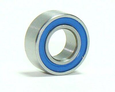 Dual Rubber Bearings 8x14 x4mm bearing 10 pcs HPI LOSI 8IGHT MR148 2RS ABEC-5