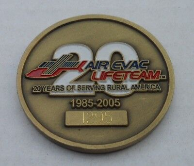 Medaille Coin Serving Rural America Feuerwehr Medical Helicopter Service Fire