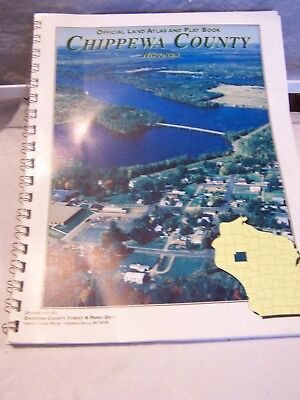 1995 Plat Book Chippewa County~Wisconsin~ 102 pg~official land atlas & Plat