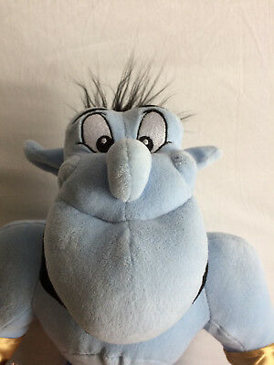 Disney Store Exclusive Stamped Genie From Aladdin Large Soft Toy With Tags