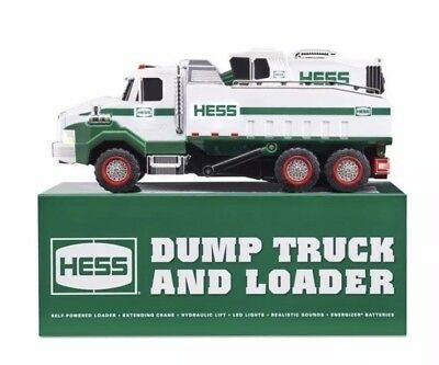 NEW - 2017 HESS Dump Truck & Loader - Priority Mail Shipping
