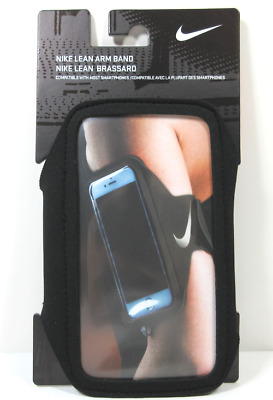 Nike Lean Arm Band Nrn65082Os - Black - Fits Most Smartphones - 100% Authentic