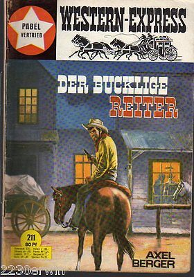 WESTERN EXPRESS 211 / Axel Berger (1964-1974 Indra-Verlag)