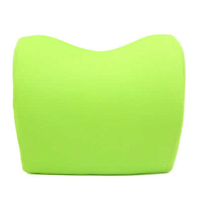 Adjustable Green Memory Foam Car Neck Seat Head Pillow Premium Headrest Cushion
