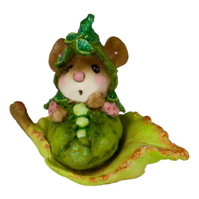 SWEET PEA by Wee Forest Folk, WFF# M-621, Pink Sleeves Halloween Mouse