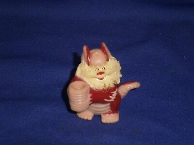 Vintage Thundercats Snarf Pencil Topper PVC Figure 2 inch 1986