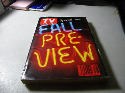 September 1993 Fall Preview TV Guide Magazine X-Files NYPD Blue Boy Meets World