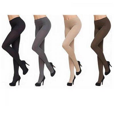 Women Thick Anti-hook 120D Stockings Pantyhose Tights Footed Socks Winter Warm