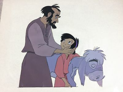 THE SMALL ONE Orig. Animation Production Cel (1978) Don Bluth's Last Disney Prod
