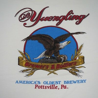 DG YUENGLING BREWERS & BOTTLERS - VINTAGE 80s T SHIRT - XL