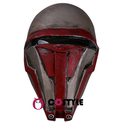 New Star Wars Darth Revan Latex Mask The Revanchist Helmet Hood Cosplay Mask