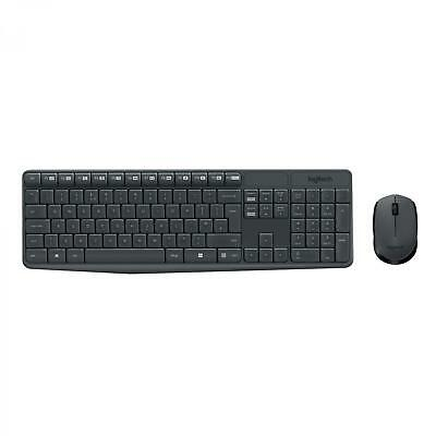 Teclado + Raton Español Logitech MK235 Wireless Keyboard and Mouse Combo-GREY