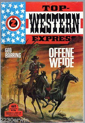 TOP WESTERN EXPRESS 465 / Geo Barring/ (1962-1975 Indra-Verlag)