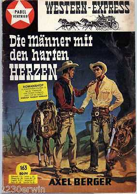WESTERN EXPRESS 163 / Axel Berger (1964-1974 Indra-Verlag)