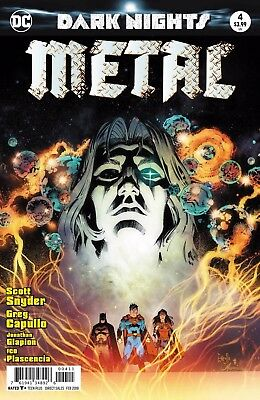 Dark Nights Metal #4 Foil Stamped Cover Dc 20/12/17
