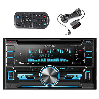 Kenwood Car DPX502BT Bluetooth CD MP3 iPod iHeart Sirius XM Radio Ready Reciver