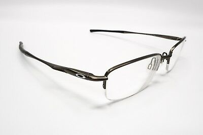 9dfc73636a7 NICE OAKLEY CLUBFACE OX3102-0352 Rx EYEGLASSES FRAMES Pewter 52  17 ...
