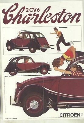 1981 Citroen 2CV6 Charleston Brochure French wy9006