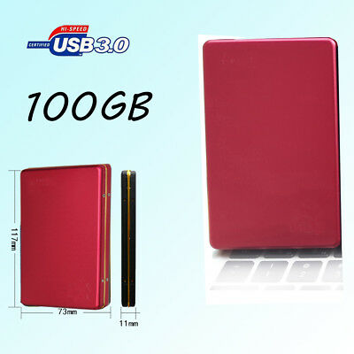 1TB Aluminum USB3.0 External Hard Drive Portable Laptop HDD Mobile Hard Disk