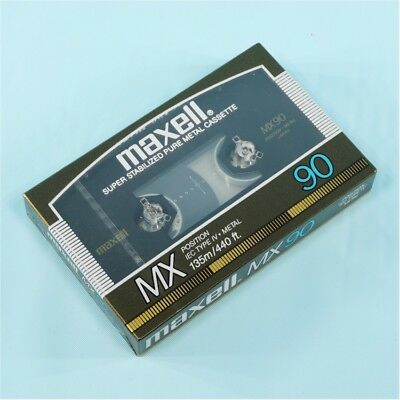 NEW maxell MX METAL Cassette 90 min. SEALED! *Made in Japan*