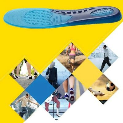 Insert Silicone Gel Insoles Orthotic Arch Support Shoe Pad Sport Running Cushion