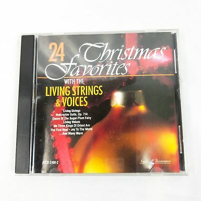 24 Christmas Favorites With The Living Strings & Voices CD (1991)