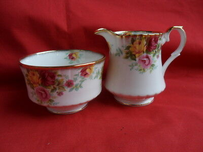 Royal Stafford, BOUQUET, Milk Jug & Sugar Bowl