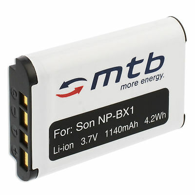 Batterie NP-BX1 NPBX1 pour Sony HDR-AS10, AS30, AS30V, AS50 Action-Cam