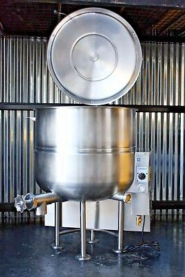 Cleveland Gas Kettle Braising Pan Skillet 60 Gallon Kgl-60 Kgl60 Soup Catering