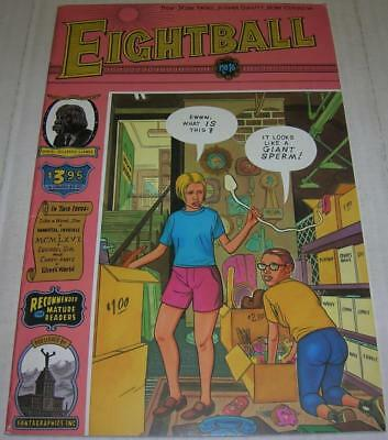 EIGHTBALL #16 (Fantagraphics 1995) RARE YELLOW GHOST WORLD story (FN-) Clowes