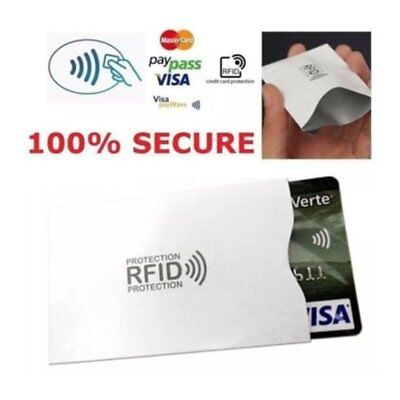 RFID Blocking Sleeve Credit Card Protector Bank Card Holder for Wallet Wholesale