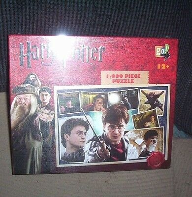 Harry Potter Puzzle Factory Sealed 1,000 Pieces
