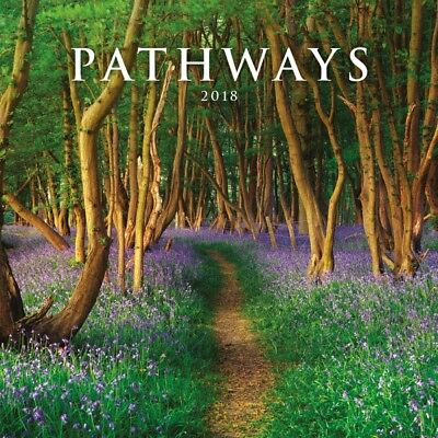2018 Pathways Wall Calendar,  Inspirational Quotes by Avalanche Publishing