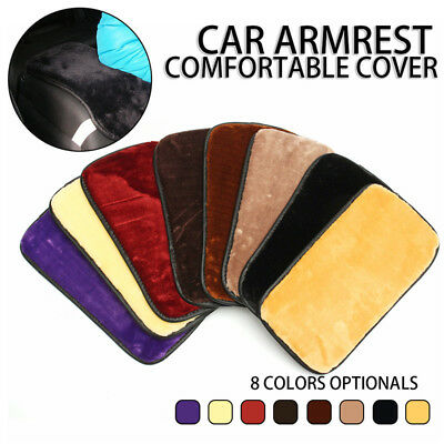 Center Console Box Armrest Pad Cushion Cover Durable Wear Mat For Car Auto SUV