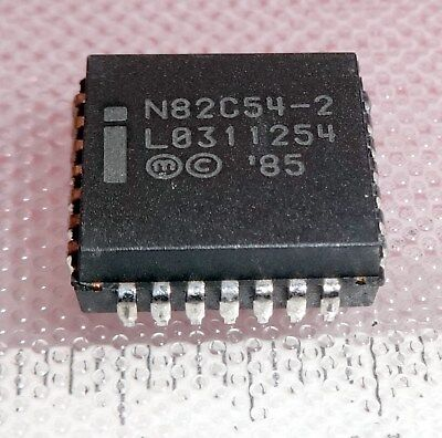 N82C54-2 Chmos Programmable Interval Timer SMD PLCC-28