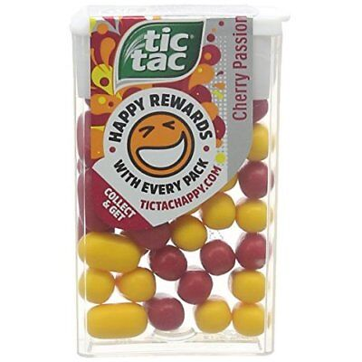 Tic Tac Cherry Passion 18 g (Pack of 24)