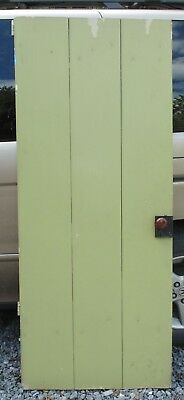 Antique Vintage Plank Wood Door Local Pickup Only 17236