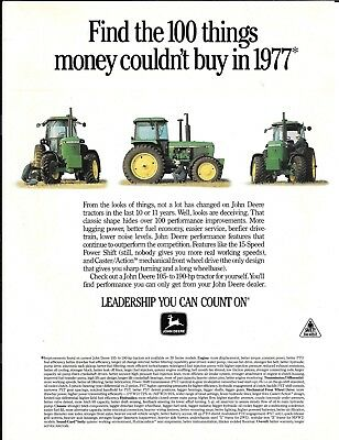 1988 John Deere Tractors Find The 100 Things Ad