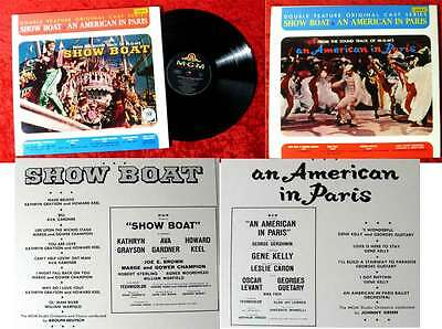 LP Show Boat / An American in Paris (MGM Double Feature Series 09002) US