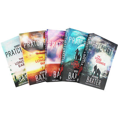 The Long Earth 5 Book Paperback Collection Set for Terry Pratchett & Sci-Fi Fans