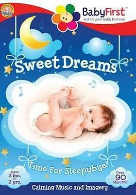 BabyFirst: Sweet Dreams - Calming Music & Imagery (DVD, 2014) FREE SHIPPING!!!
