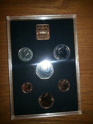 1971 Great Britain+ Northern Ireland , Royal Mint , Six Coin Proof Set